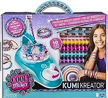 Cool Maker 6038301 - Kumi Kreator Studio, Freundschaftsarmbänder flechten, Basteln mit Gelinggarantie, Selber machen