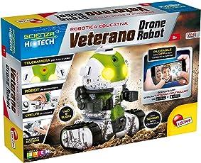 Lisciani Giochi 63918 - Scienza Hi Tech Veteran Drone Robot