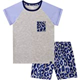Harry Bear Pijama Corta para niñas Motivo de Leopardo