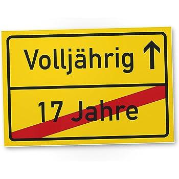 ORIGINAL Verkehrszeichen 18 Geburtstagsschild (m