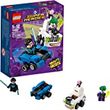 LEGO UK - 76093 DC Super Heroes Mighty Micros: Nightwing versus The Joker Superhero Toy for Boys and Girls