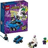 LEGO DC Comics Super Heroes - Mighty Micros : Nightwing contre Le Joker - 76093 - Jeu de Construction