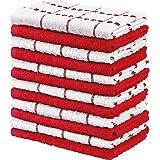 Utopia Towels - Keukenhanddoeken, 38 x 64 cm, 100% ringgesponnen katoen, superzachte en absorberende theedoeken, theedoeken e