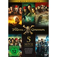 Pirates of the Caribbean 5-Movie Collection [5 DVDs]