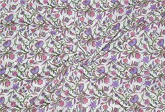 Rajcrafts White color Jaiprui Cotton Running Fabric 2.5 Meter Dress Making Fabric, Fabric, Running Fabric, Cotton Fabric, Dress Runnig fabric,Handmade Fabric , Hand block Fabric, Fabric By Meter, Cotton Fabric For men, Cotton fabric for woman