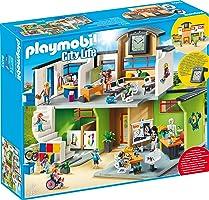 PLAYMOBIL 9453 Spielzeug-Große Schule mit Einrichtung