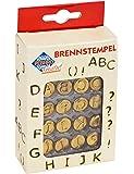Pebaro 20400 - Brennstempel, Buchstaben A - L, 16-teilig