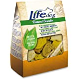 Life Dog Natural Biscuits, Biscotti a Forma di animaletti. 500gr