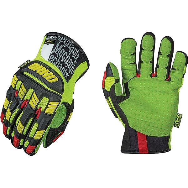 Mechanix Wear Herren The Safety M Pact Orhd Handschuhe Gelb Rot Größe Xl Bekleidung