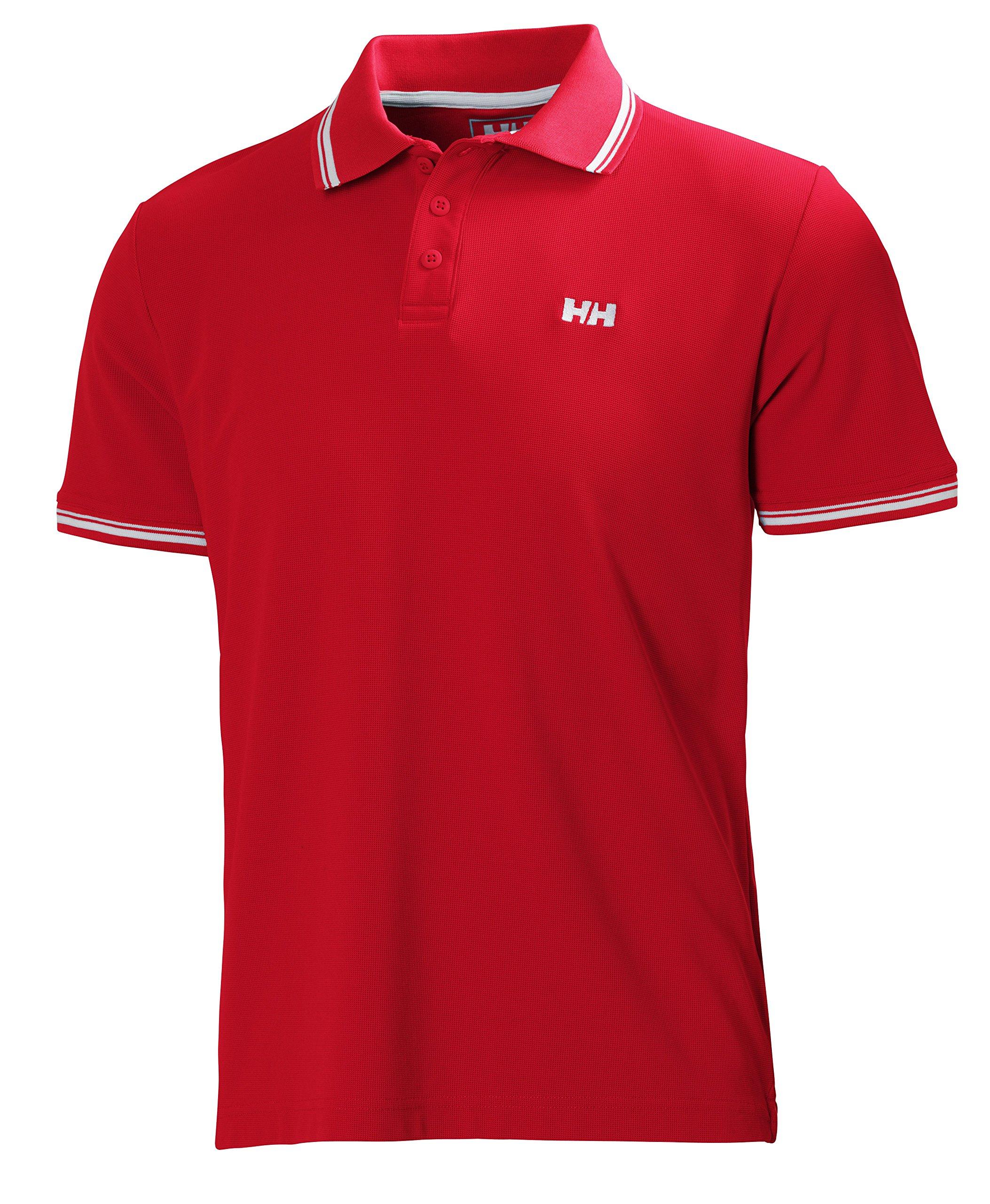 Helly Hansen Herren Polo Kos Short Sleeve, Redcurrant, XL, 50565