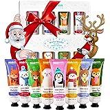 BRUBAKER Cosmetics Crema per le Mani Winter Wonder Gift Set 8 Pezzi per La Cura Delle Mani Secche - Crema Idratante con Urea