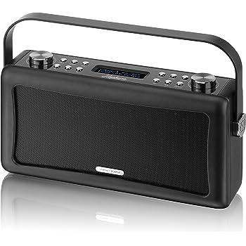 View Quest 'Hepburn' Bluetooth Audio System with DAB+ Radio - Black