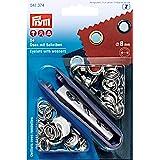 Prym 541374 Ringen en schijven 8mm zilver - 24st