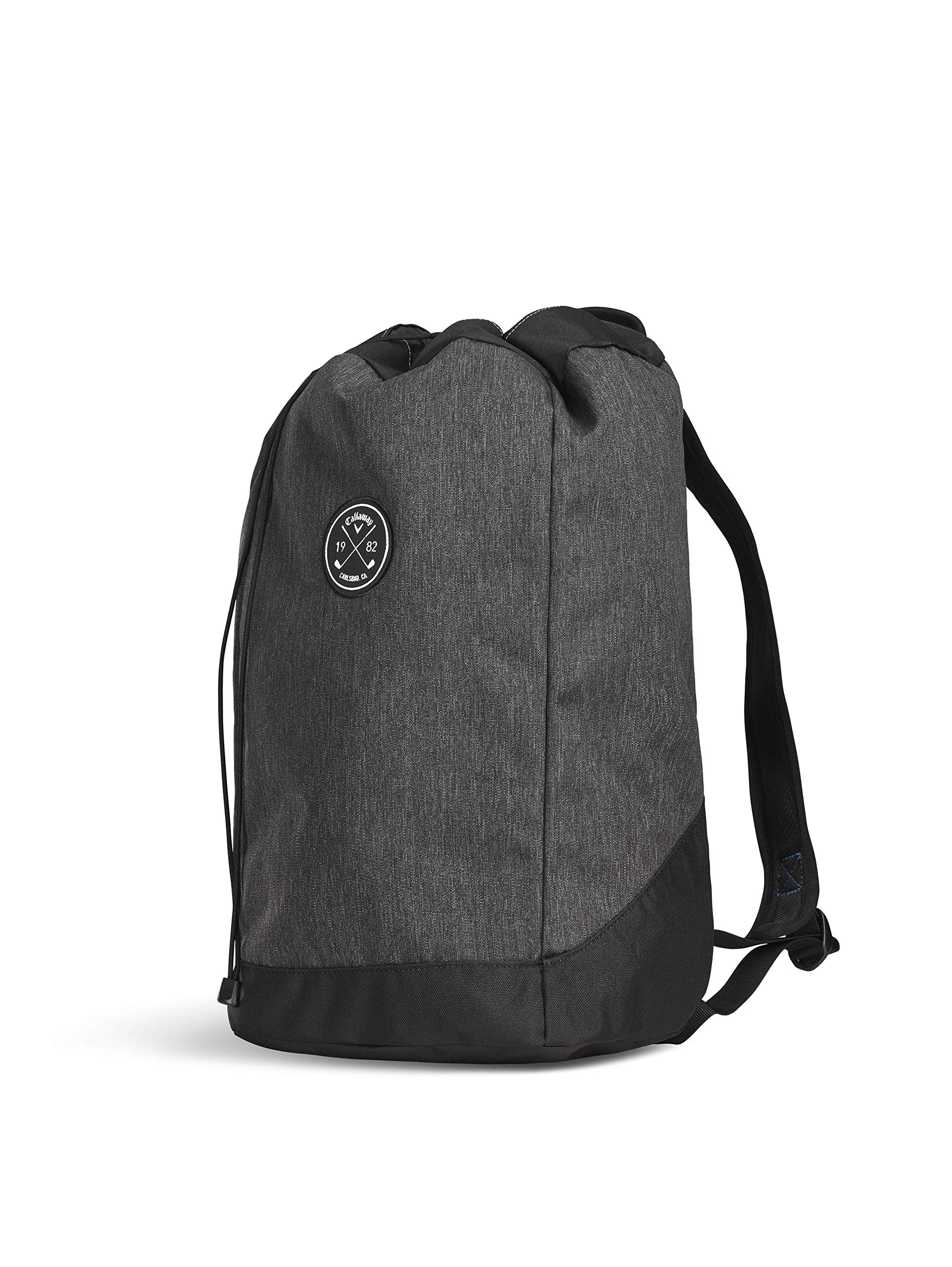 Callaway Men's Clubhouse Backpack, Black, One Size Callaway Padded Laptop Sleeve Comfort Grip Handle Interior Mesh Pocket with Key Clip 3