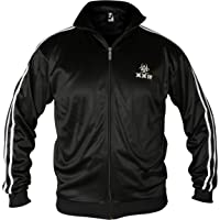 XXR Stripe Jacket TT Mens Track Tracksuit Top Casual Activewear Zip Up Jogging Activewear Casual Clothing Running…