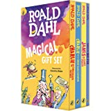 BOXED-ROALD DAHL MAGICAL GI 4V: Charlie and the Chocolate Factory, James and the Giant Peach, Fantastic Mr. Fox, Charlie and