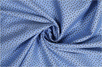 Handicraft-Palace Men's Cotton 1.60 Meters Unstitched Shirt Fabric (Sky Blue_Free Size)