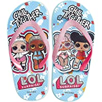 L.O.L. Surprise! Flip Flops, Girls Sandals Featuring Her Favourite LOL Dolls, Kids Sliders for Beach Holidays Swimming…