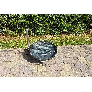 Grillrost für eine Feuerschale Ø 50 cm: Amazon.de: Garten
