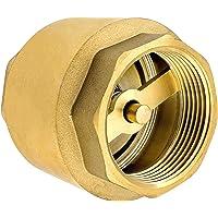 SHYNE Clapet anti-retour de 3/4 pouce en laiton de haute qualité robuste, antirouille et étanche pour une pompe, une…