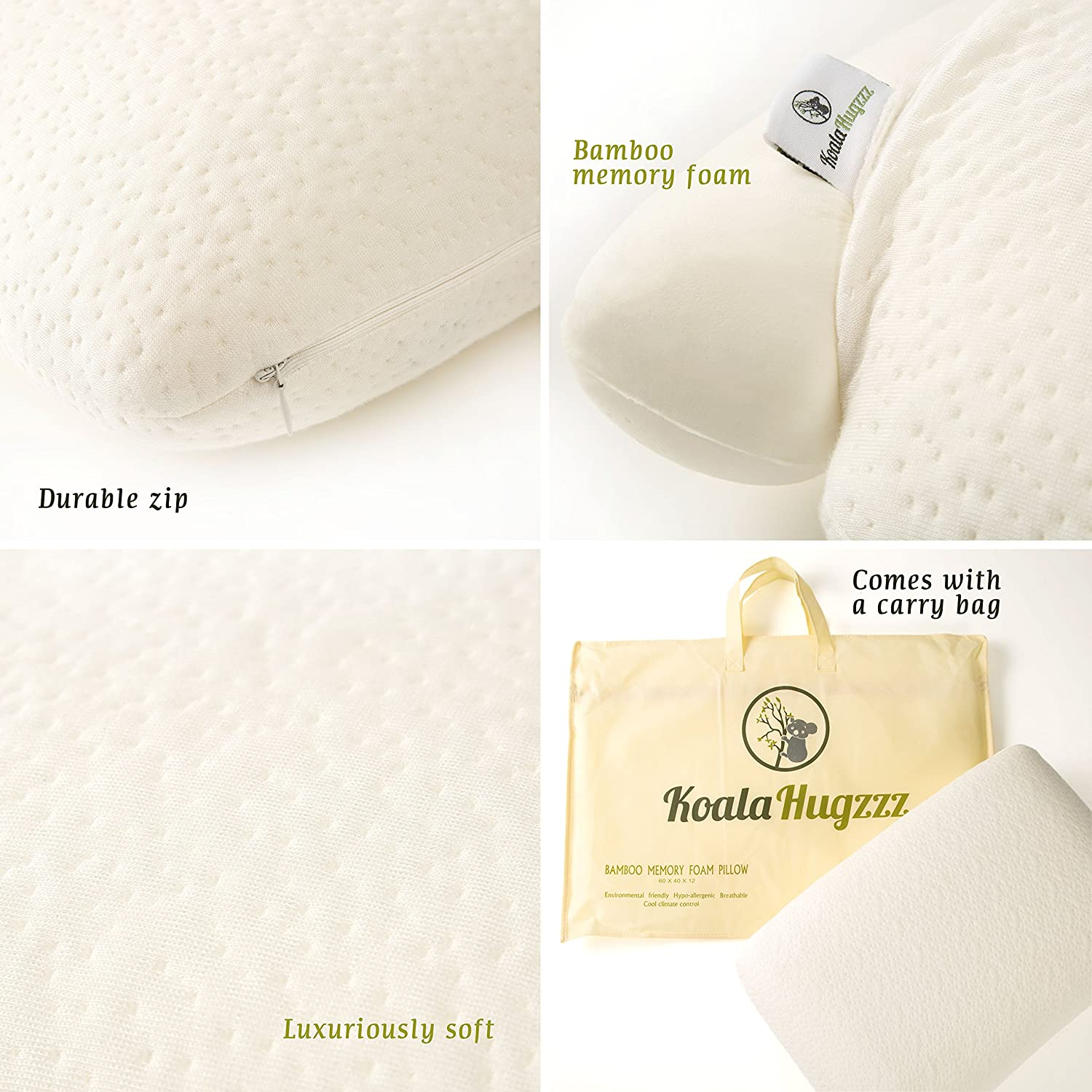 premium bamboo memory foam pillow with bamboo coolmax cover luxury memory foam pillow adjustable orthopaedic memory foam pillow with viscose rayon cover