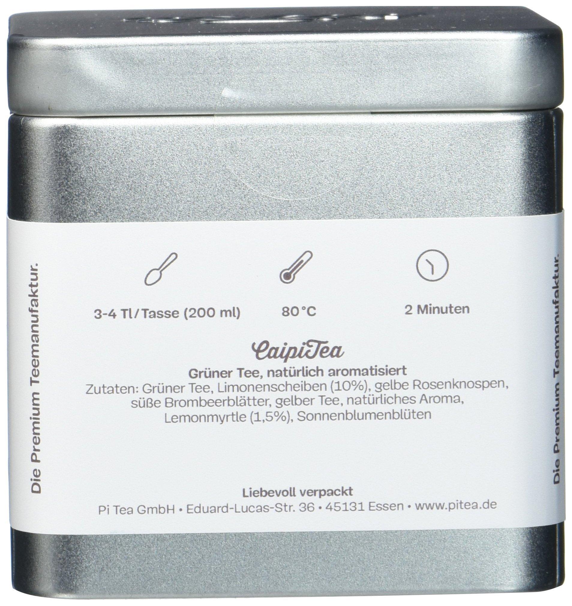 Pi-Tea-CaipiTea-Dose-Grner-Tee-Teestation-natrlich-und-vegan-2er-Pack-2-x-75-g