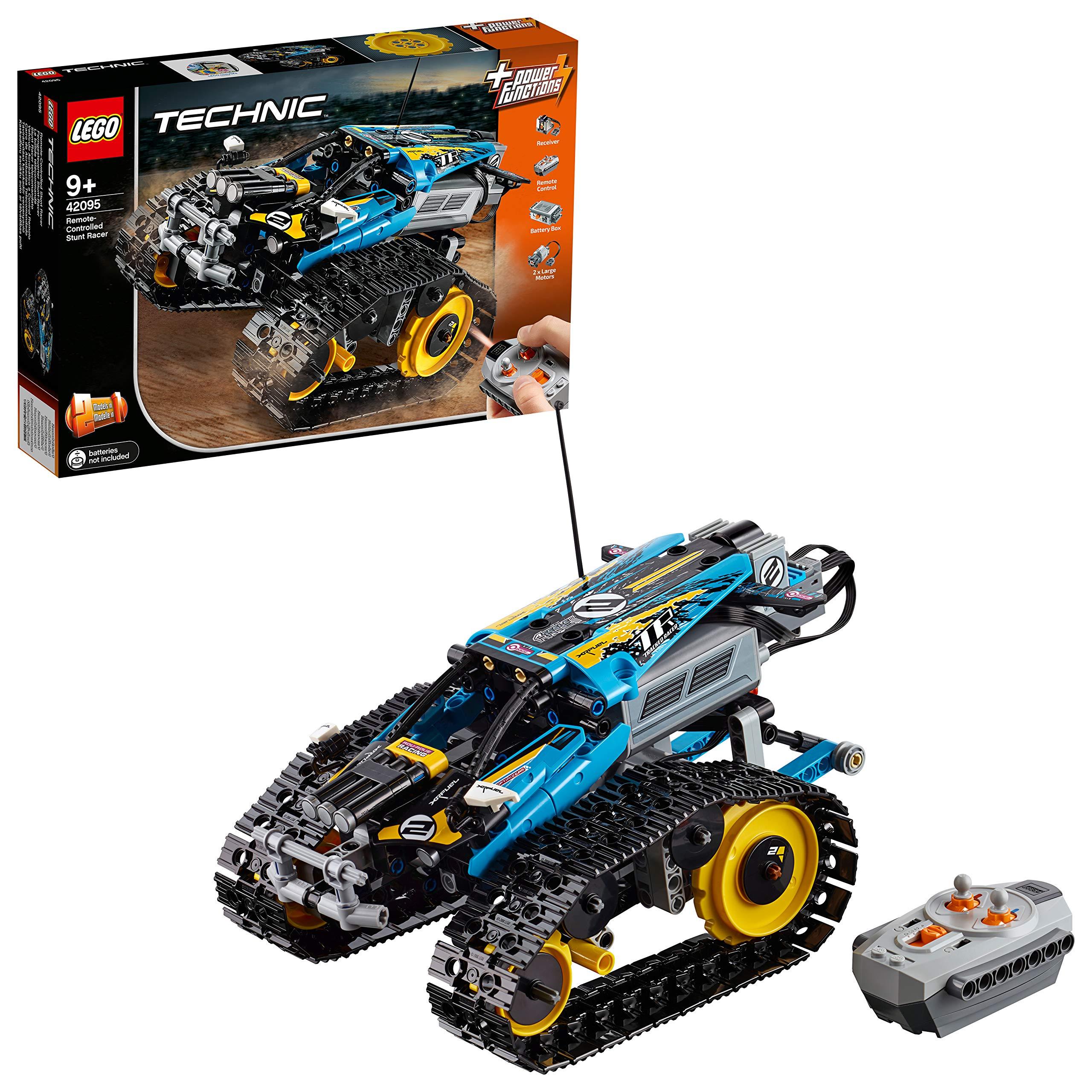LEGO Technic – Vehículo Acrobático a Control Remoto, Coche Teledirigido de Juguete, Set de Construcción 2 en 1, Funciona…