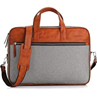Bennett Mystic PRO 15.6 inch Laptop Shoulder Messenger Sling Office Bag, Water Repellent Fabric for Men and Women (Grey)