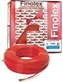 Finolex 4.0-Sqmm FR PVC Insulated Cable (Red, 90 Mtr)