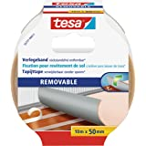tesa 55731-11 Flooring Tape Residue-free Removal, 10m x 50mm, wit