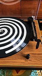 Kundenrezensionen Schallplattenspieler Viflyko Tragbarer Mp3 Plattenspieler Und Digital Encoder Integrierter 2 Stereo Lautsprecher Und Riemenantrieb Aux In Rca 3 Geschwindigkeiten 33 45 78 U Min Naturholz