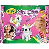 Crayola Color'N'Wash pets-Mes Animaux à Colorier-Kit Chien et chat, 74-7265-F000