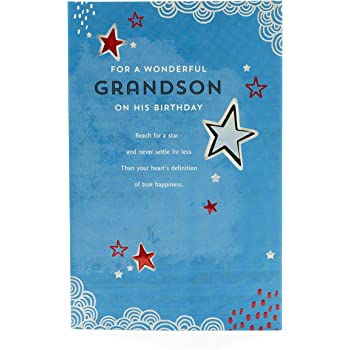 Special Grandson 15th Birthday Card Amazoncouk Office Products