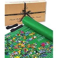 Puzzle Gonflable Roll Upto 1500 Pcs - Tapis de Puzzle avec Toile Pliable - À Ranger dans Un Espace réduit Lorsque Non…