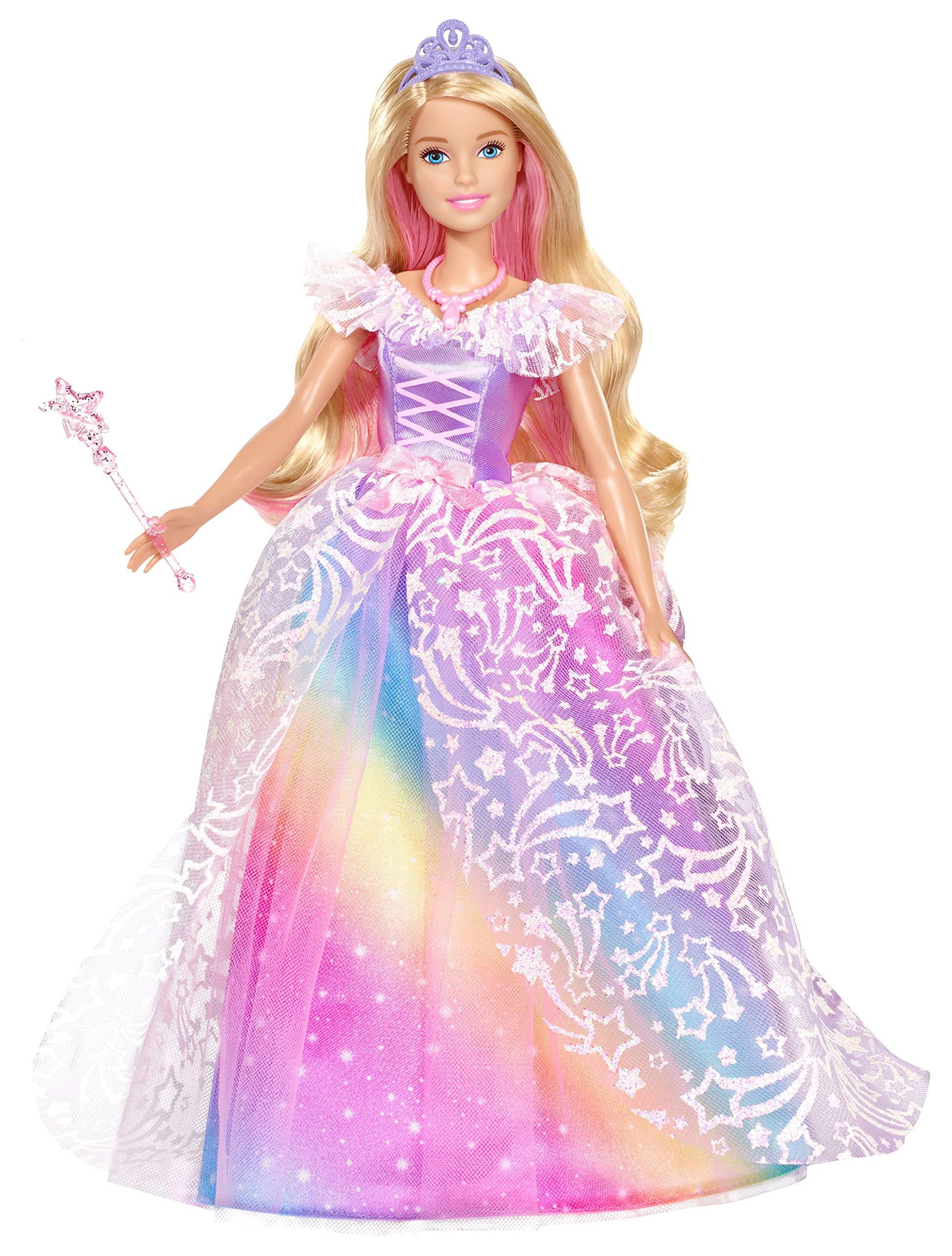 Barbie Dreamtopia Principessa Gran Galà Bambola con Accessori, Giocattolo per Bambini 3+ Anni, GFR45 1 spesavip