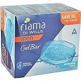 Fiama Di Wills Gel Bar - Refreshing Pulse, 3x125g Pack