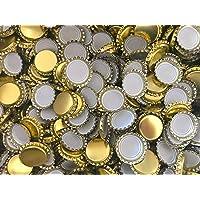 AE-GLAS Lot de 25, 50, 100 ou 125 capsules de 26 mm non perforées - Pour bouteilles de bière, de limonade et pour fermer…