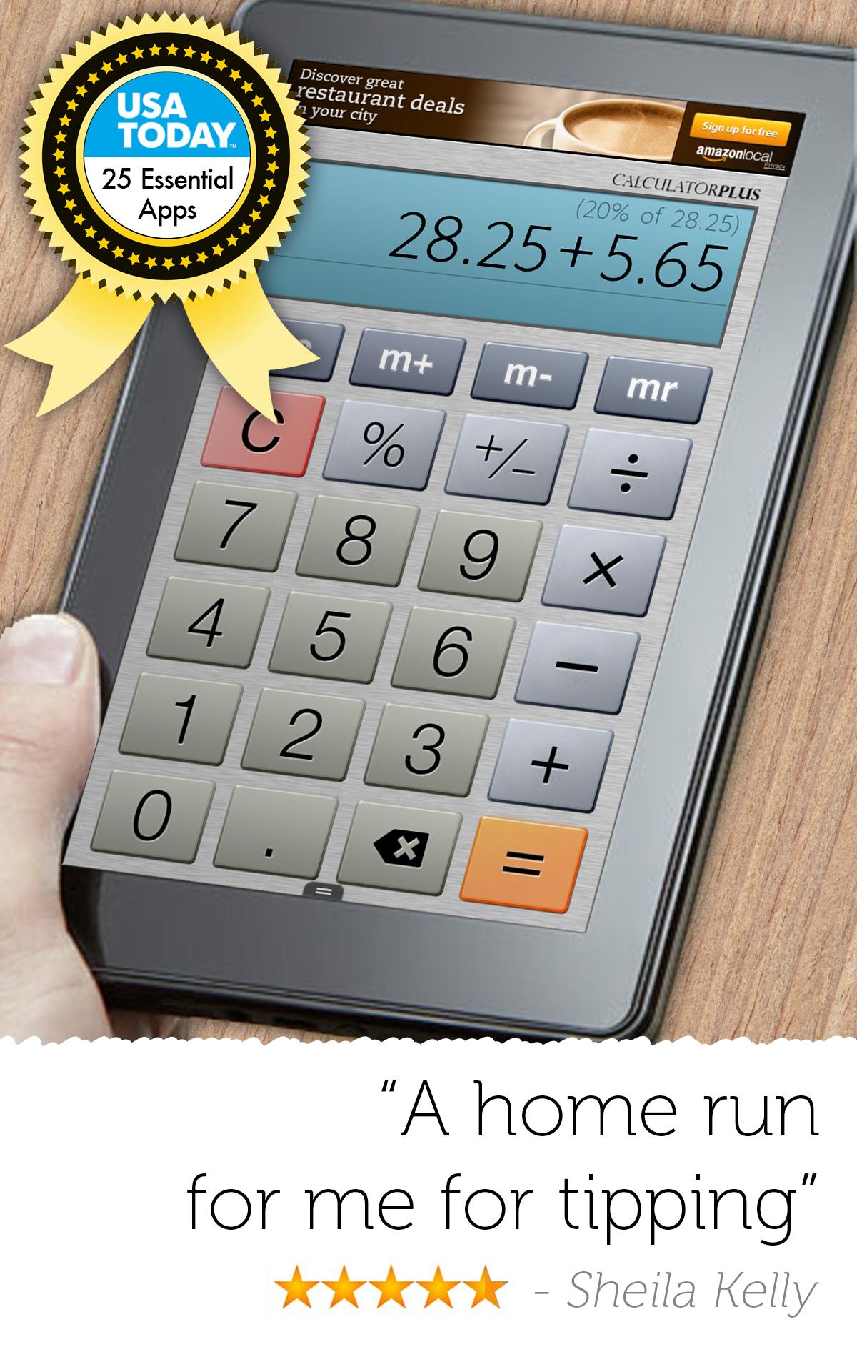 Rechner Plus Gratis: Amazon.de: Apps für Android