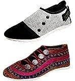 ZIAULA Womens Casual Shoes Combo
