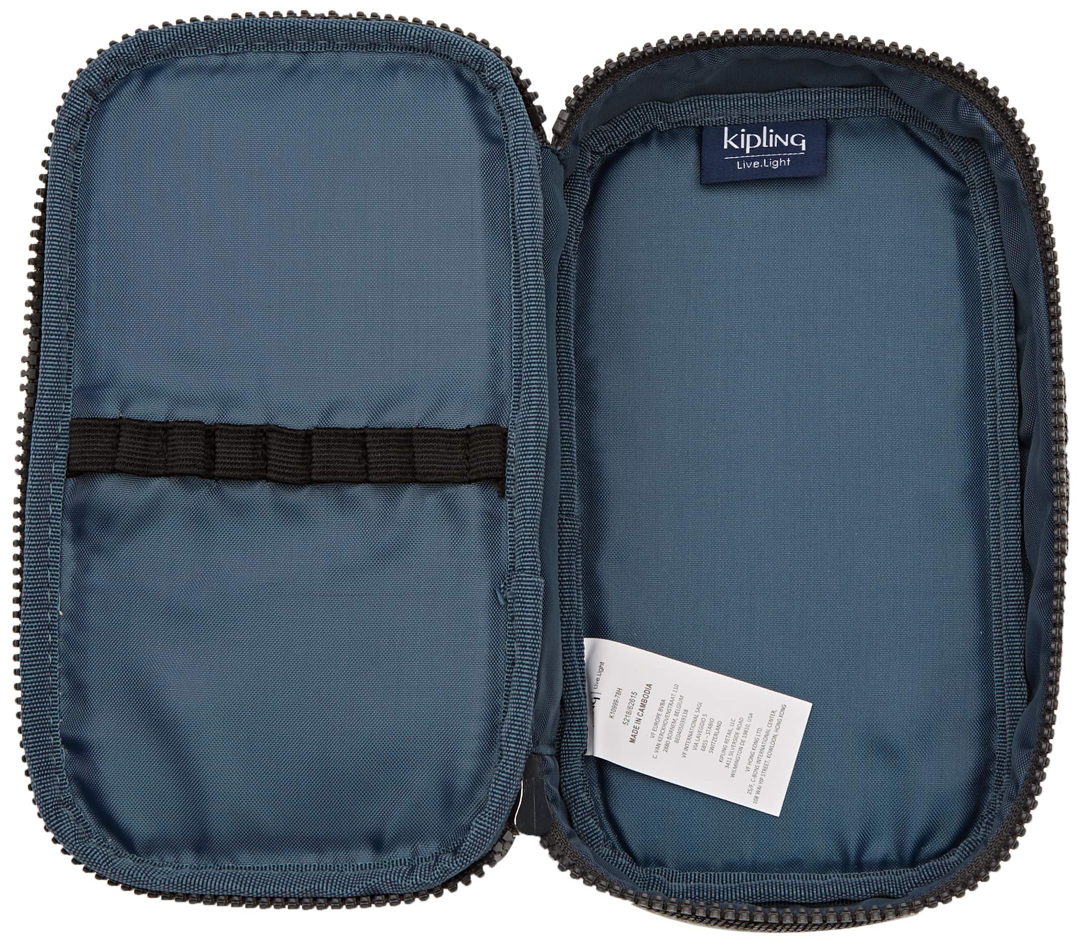 Kipling GITROY Estuches, 23 cm, 1 Liters, Azul (Polish Blue C)