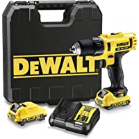 DeWalt DCD710D2-QW ,Akku-Bohrschrauber 10,8 V/2,0 Ah