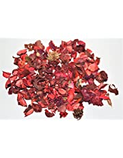 Pure Source India Highly Fragrance Potpourri Loose 250 Gram Pack (Rose) Dry Flower