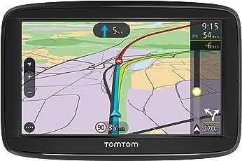 TomTom Via 52 Europe Traffic Navigationsgerät (13 cm (5 Zoll), Sprachsteuerung, Bluetooth Freisprechen, Fahrspurassistent, 3 Monate Radarkameras (auf Wunsch), Karten von 48 Ländern Europas)