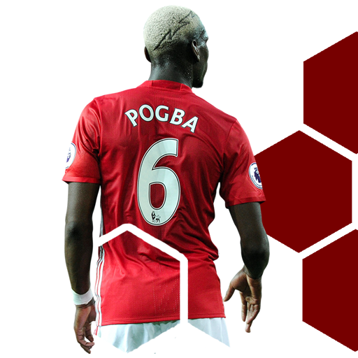 Paul Pogba Clock Widget