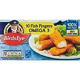 Birds Eye 10 Omega 3 Fish Fingers, 280g (Frozen)