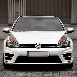Folientechnik Bayer 1005 Motorhaubenstreifen Kompatibel Mit Volkswagen Golf 7 Gti R Gte Gtd Schwarz Auto