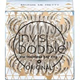 Invisibobble Time To Shine Collection Bronze Me Pretty, 1er Pack, (1x 3 Stück)