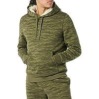 Amazon Essentials Men's Sherpa-Lined Pullover Hoodie Sweatshirt