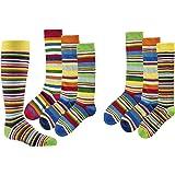 socksPur 3 pares de calcetines para niños de algodón peinado de alta calidad