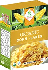 Real Life Organic Corn Flakes, 200 Grams (Buy 1 get 1 Free)